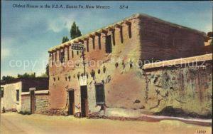 Santa Fe New Mexico The oldest House in the U.S.A. Kat. Santa Fe