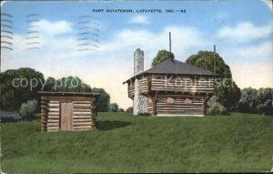 Lafayette Indiana Fort ouiatenon Kat. Lafayette