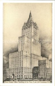 New York City New home office building of the New York life insurance / New York /