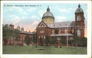 Hoboken New Jersey St. Michael s Monastery  Kat. Hoboken