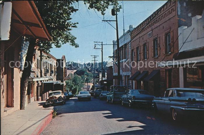 San Andreas Main Street Courthouse Hotel Treat Kat. San Andreas