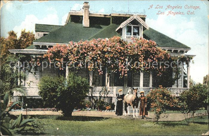 Los Angeles California Los Angeles Cottage Kat. Los Angeles