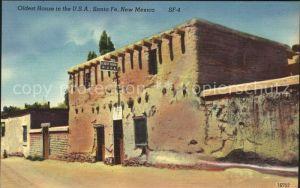 Santa Fe New Mexico Oldest House in the USA  Kat. Santa Fe