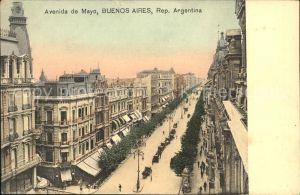 Buenos Aires Avenida de Mayo  Kat. Buenos Aires