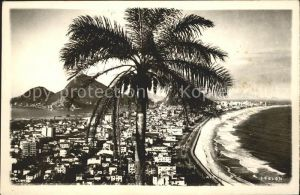 Rio de Janeiro Strand Panorama Kat. Rio de Janeiro