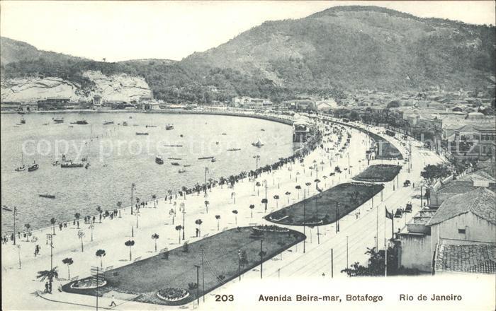 Rio de Janeiro Avenida Beira Mar Kat. Rio de Janeiro 0