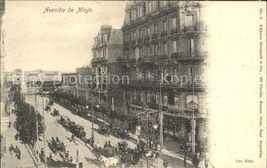 Buenos Aires Avenida da Mayo Kat. Buenos Aires