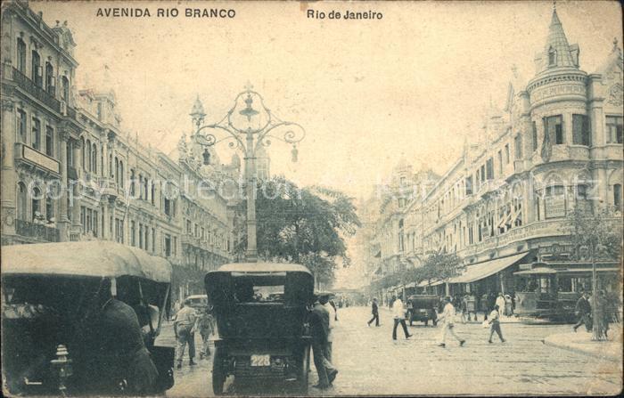 Rio de Janeiro Rio Branco Kat. Rio de Janeiro