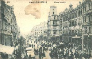 Rio de Janeiro Rio Blanco Kat. Rio de Janeiro