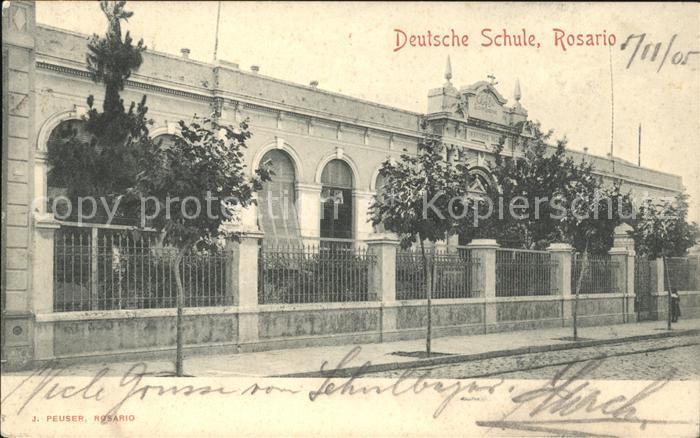 Rosario Santa Fe Deutsche Schule Kat. Rosario
