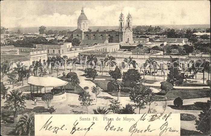 Santa Fe de la Vera Cruz Plaza de Mayo / Santa Fe /
