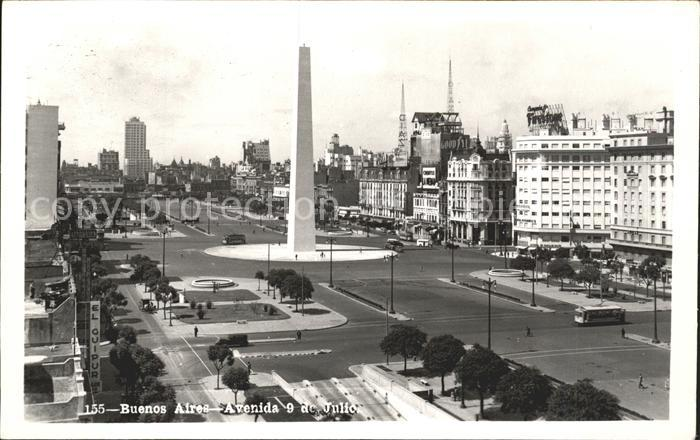 Buenos Aires Avenida 9 de Julio Kat. Buenos Aires