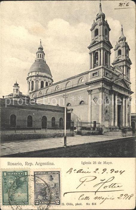 Rosario Santa Fe Iglesia 25 de Mayou Kat. Rosario
