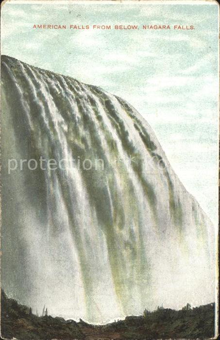 Niagara Falls New York American Falls  Kat. Niagara Falls