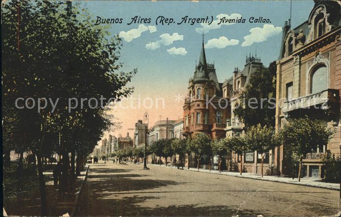 Buenos Aires Avenida Callao Kat. Buenos Aires