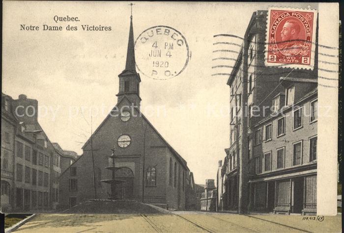 Quebec Notre Dame des Victoires Kat. Quebec