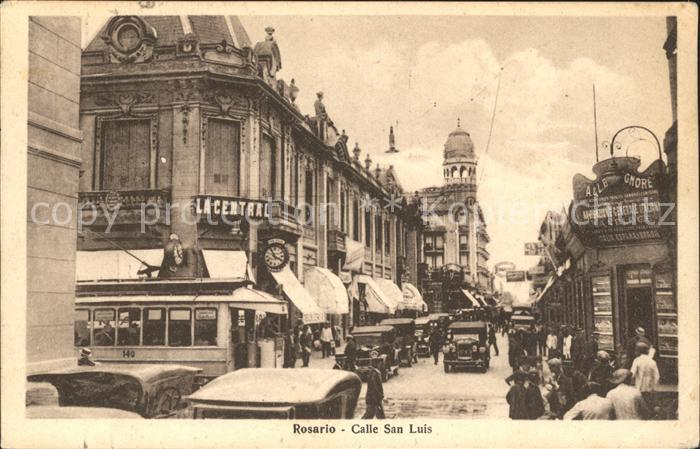 Rosario Santa Fe Calle San Luis Autos Kat. Rosario
