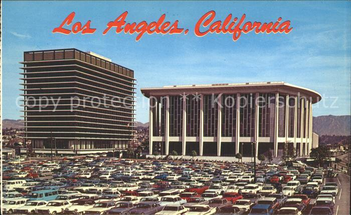 Los Angeles California Pavilion of Music Center Water and Power Building Kat. Los Angeles