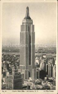 New York City Empire State Building / New York /
