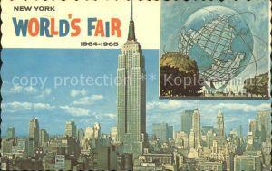 New York City World's Fair Unisphere Skyline Empire State Building / New York /