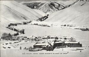 Sun Valley Idaho General view in Winter Mountains Kat. Sun Valley