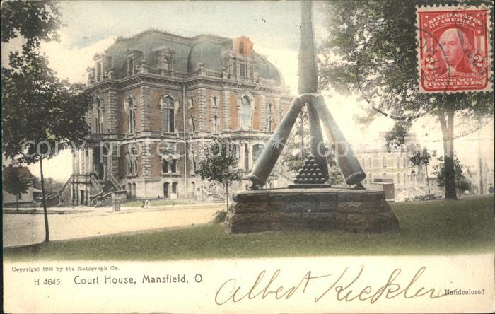 Mansfield Ohio Court House Kat. Mansfield