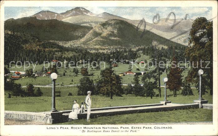 Estes Park Longs Peak Rocky Mountains National Park Kat. Estes Park