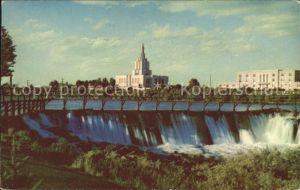 Idaho Falls Mormon Temple Kat. Idaho Falls