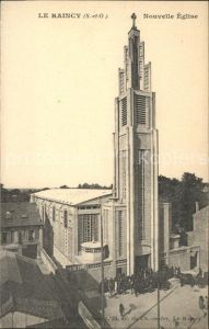 Le Raincy Nouvelle Eglise Kat. Le Raincy