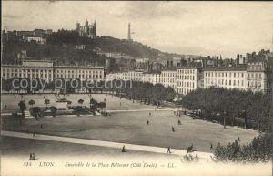Lyon France Place Bellecour Kat. Lyon