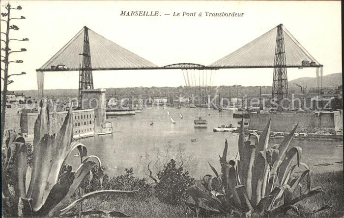 Marseille Pont a Transbordeur Kat. Marseille