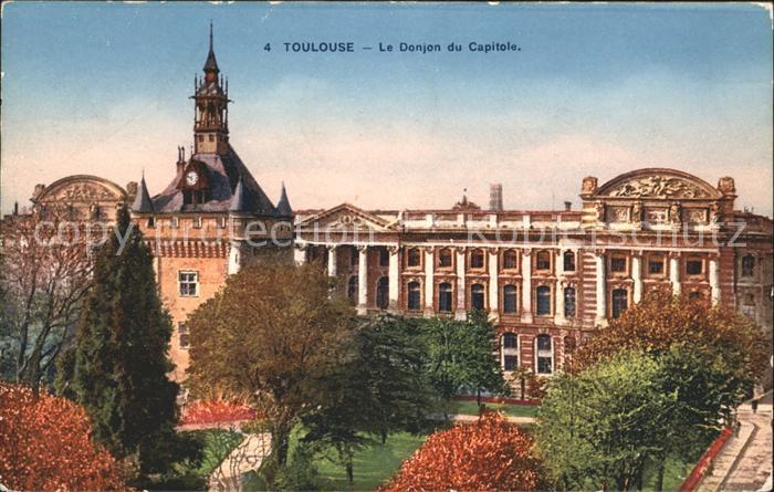 Toulouse Haute Garonne Donjon du Capitole Kat. Toulouse