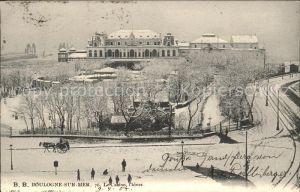 Boulogne sur Mer Casino en hiver Kat. Boulogne sur Mer
