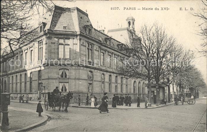 Paris Mairie du XVI siecle Kat. Paris