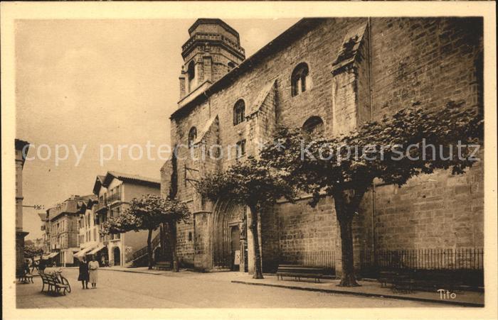 Saint Jean de Luz Rue Gambetta Eglise Cote Basque Kat. Saint Jean de Luz