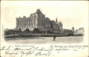 Saint Germain en Laye Chateau Facade principale Kat. Saint Germain en Laye