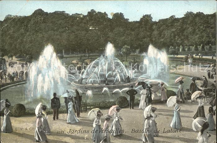 Versailles Yvelines Jardins Bassin De Latone Fontaine Kat Versailles