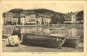 Cassis Port et la ville Kat. Cassis