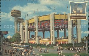 New York City New York State Exhibit Worlds Fair 1964-1965 Tent of Tomorrow / New York /