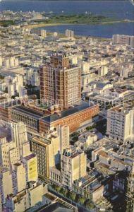 Montevideo Uruguay Vista aerea del Palacio Municipal Kat. Montevideo