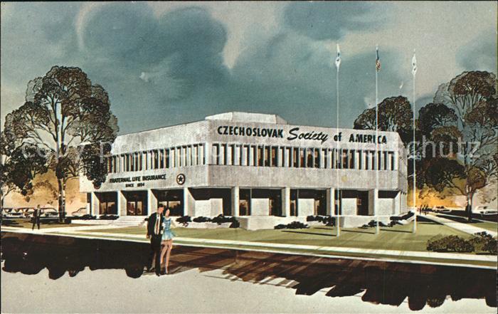 Berwyn Illinois Home Office Building of Czechoslovak Society of America Kat. Berwyn