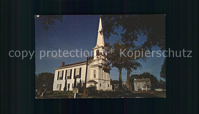 Little Compton United Congregational Church Kat. Little Compton