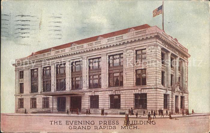 Grand Rapids Michigan Evening Press Building Kat. Grand Rapids
