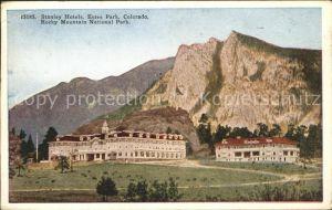 Estes Park Stanley Hotels Rocky Mountains National Park Kat. Estes Park