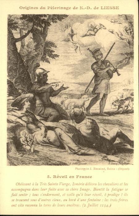 Liesse-Notre-Dame Origines du Peterinage de N.-D. de Liesse / Liesse-Notre-Dame /Arrond. de Laon