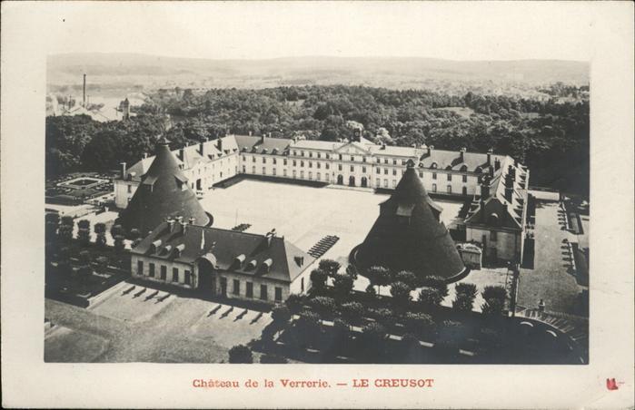 Le Creusot Saone-et-Loire Chateau de la Verrerie / Le Creusot /Arrond. d Autun