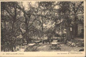 Arcy-sur-Cure Yonne Terrasses Chalet Restaurant * / Arcy-sur-Cure /Arrond. d Auxerre