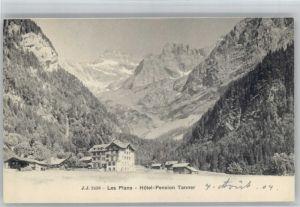 Les Plans-sur-Bex Les Plans Hotel Pension Tanner * / Les Plans-sur-Bex /Bz. Aigle