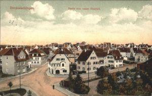 Donaueschingen Partie vom neuen Stadtteil / Donaueschingen /Schwarzwald-Baar-Kreis LKR