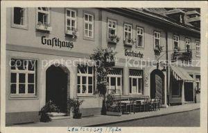 Leutenberg Thueringen Gasthaus zur Garkueche  / Leutenberg /Saalfeld-Rudolstadt LKR